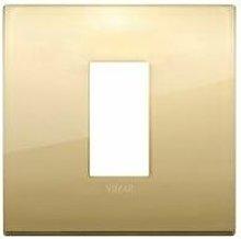 Placca Classic 1M oro scatola rotonda Arkè