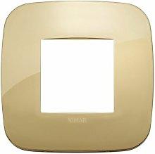 Placca Round 2M oro scatola rotonda Arkè 19672.27