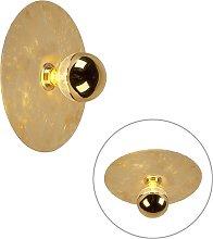 Plafoniera / Applique moderna oro 30cm - DISQUE