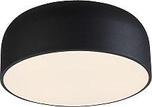 Plafoniera design nero dimm - BALON