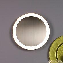 Plafoniera LED Moon Ø 30 cm, argento