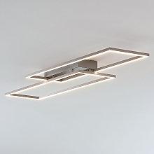 Plafoniera LED Quadra a cornice, dimmerabile