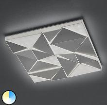 Plafoniera LED Trinity con luce notturna, 60x60 cm
