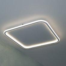 Plafoniera quadrata LED 50W luce indiretta lampada