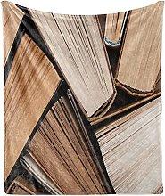 Plaid Coperta, Coperta da tiro in morbido pile di