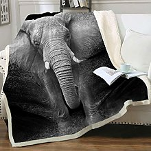 Plaid Coperta, Coperta Elefante Super Soft super