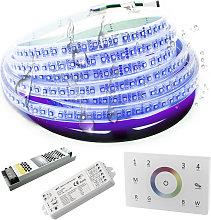 Planetitaly - KIT striscia LED RGB 24V IP67 SMART