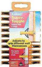 Plasplug SSTC554 - Tasselli per muri cavi