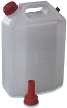 Plastime 3515 1 Tanica con Rubinetto, 30 l,