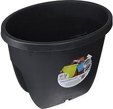 Plastkon Vaso da Appendere 25x 45cm Ponte