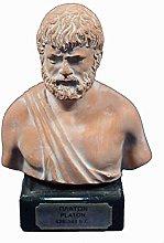 plato scultura busto greco filosofo Artefatto