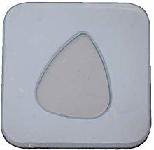 Plettro geometrico in silicone, resina epossidica,
