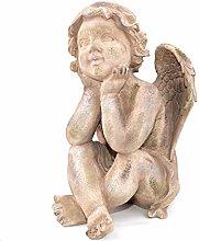 PLIENG Figurine da Giardino All'aperto Angelo