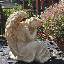 PLIENG Statua Dell'angelo Addormentato