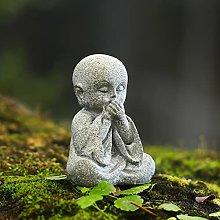PLIENG Statua di Buddha in Miniatura Ornamento da