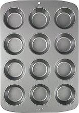 PME CSB110 Teglia Antiaderente, Carbonio, Grigio,