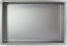 PME OBL08124 Teglia Professionale, Alluminio,