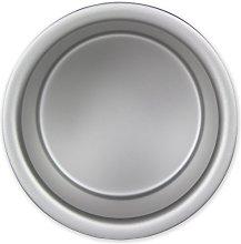 PME RND033 Teglia Professionale, Alluminio, Argento