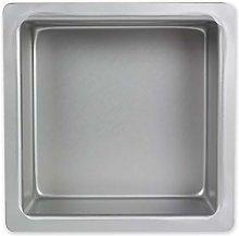 PME SQR053 Teglia Professionale, Alluminio,