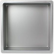 PME SQR163 Teglia Professionale, Alluminio,