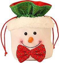 POAURA Sacchetto di caramelle di Natale Natale