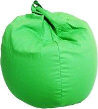 Poltrona A Sacco Pouf In Cotone Verde - Avalli