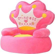 Poltrona Imbottita per Bambini Principessa Rosa