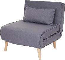 Poltrona letto relax HWC-D35 trasformabile legno