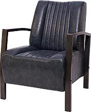 Poltrona lounge design industriale HWC-H10 acciaio