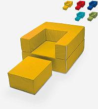 Poltrona modulare design componibile chaise longue