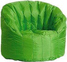 Poltrona Pouf Tortuga In Nylon Verde - Avalli
