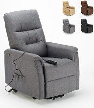 Poltrona relax elettrica reclinabile con
