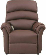 Poltrona Relax massaggiante brown