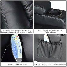 Poltrona Relax Massaggiante Riscaldabile In