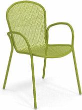 Poltrona Ronda Xs Verde Impilabile Arredo Giardino