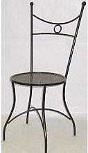 Poltrona sedia linea in ferro battuto poltrone