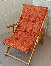 Poltrona Sedia Sdraio Relax 3 Posizioni in Legno