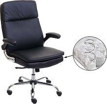 Poltrona sedia ufficio girevole HWC-F83 ecopelle