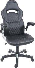 Poltrona sedia ufficio girevole HWC-F87 ergonomica