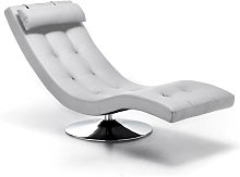 Poltrona Sleeper Chaise Longue In Similpelle