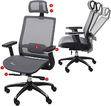 Poltrona ufficio HWC-A20 ergonomica design moderno