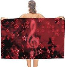 Popolare Rock Star double face pile asciugamani da