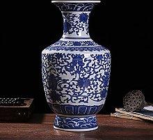 Porcellana Blu E Bianca Vaso,Cinese Jindezhen