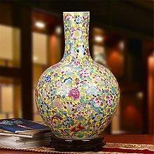 Porcellana di Hbao,Smalto pastello,Vaso Celeste