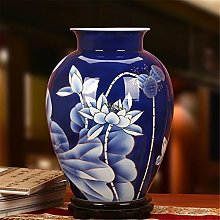Porcellana Hbao, porcellana bianca e blu dorata