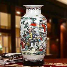 Porcellana Hbao, Rosa antica Famiglia, Vaso piatto