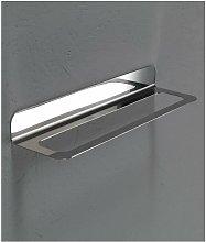 Porta asciugamani acciaio satinato 41 cm serie cut