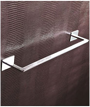 Porta asciugamani cromo serie flat - Capannoli