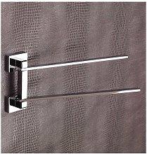 Porta asciugamani snodato cromo serie flat