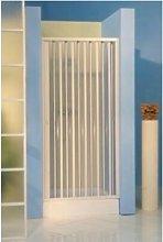 Porta box doccia nicchia a soffietto pvc 110 - 120